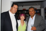with Dr. Gamboa and a friend