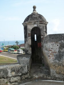 part of the city's defenses against pirate attacks