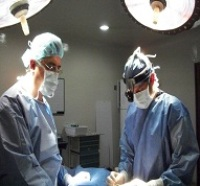 in the operating room with some of Colombia's finest surgeons