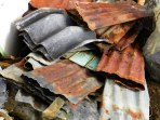 everything gets recycled - these panels are used for roofing
