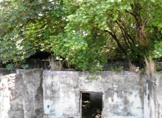 ruins at Armero