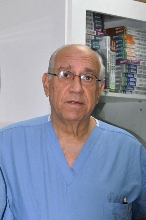 Dr. Francisco Sanchez Garido, cardiothoracic surgeon