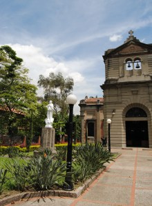 Chapel on the main campus of San Vicente de Paul in downtown Medellin