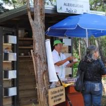 vendor at Parque Arvi