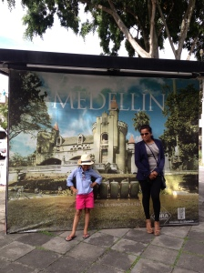 my models help advertise the city of Medellin for it's fashion-forwardness