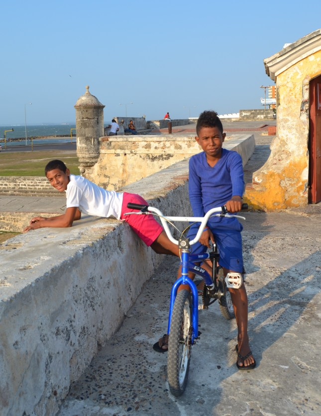 kids in Cartagena