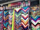 Fabric shopping in Medellin