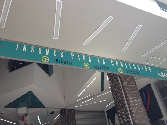 One of the malls for custom printed fabric