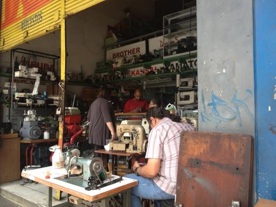 Sewing machine repair and sales