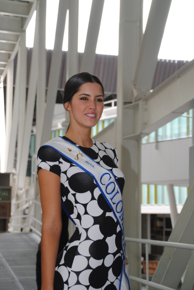 Miss Colombia, Paula Vega of Atlantico region (Barranquilla)