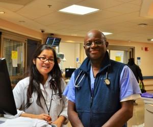 Doctors in the ICU